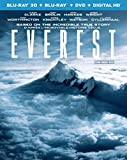 Everest [Blu-ray 3D + Blu-ray + DVD + Digital HD]