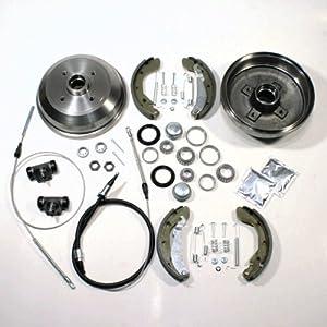 vw golf 3 iii bremstrommel bremsen set zubeh r 2 x. Black Bedroom Furniture Sets. Home Design Ideas