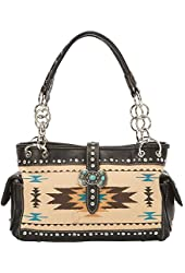 Montana West Western Aztec Collection Shoulder Bag