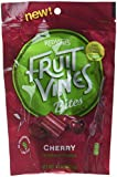 Red Vines, Fruit Vines Bites, Cherry, 10oz Resealable Pouch (Pack of 4)
