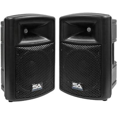 Seismic Audio PWS-10Pair 10-Inch Powered Speaker Cabinet from Seismic Audio Speakers, Inc.