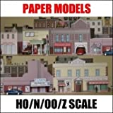 150 Paper Model Buildings CD