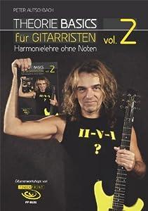 theorie basics f r gitarristen vol 2 harmonielehre ohne noten inkl dvd peter. Black Bedroom Furniture Sets. Home Design Ideas