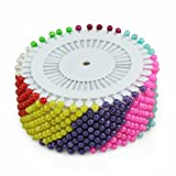 New 480pcs Multi Colour Round-Head Faux Pearl Decorating Pin Dressmaking Pin