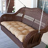 Porch Swing Set for the Perfect Relaxing Day. Enjoy a Patio Swing with This Comfortable Oversized Swing. Looks Great Alone or in Addition to Other Patio Furniture Like a Chaise Lounge Chair or Other Patio Sets. by Bay