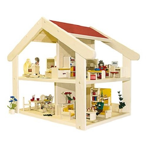 Rulke Holzspielzeug 23181 Filius Maison de poupée en bois