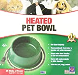 Farm Innovators Model QT-1 1-Quart Heated Bowl, Green, 25 Watts