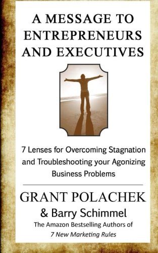 A Message to  Entrepreneurs  and Executives: 7 Lenses for Overcoming Stagnation and Troubleshooting your Agonizing Business Problems PDF