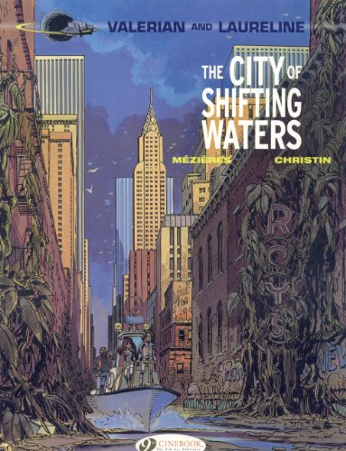The City of Shifting Waters (Valérian, #1)