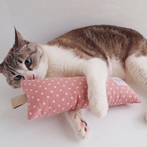 またたびけりけり【ドット】スモールドットnekozuki 猫用おもちゃ 全年齢の猫用 (スモールドット・ピンク860)