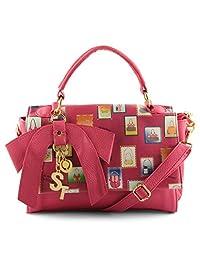 ST Bags Dark Pink Women's Hand-held Bag