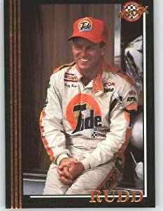 1992 Maxx Black Racing Card # 5 Ricky Rudd - NASCAR Trading Cards by Maxx