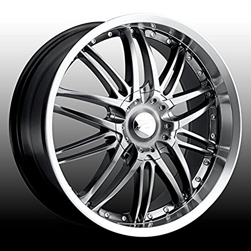 Platinum Apex 15 Hyperblack Wheel / Rim 4x100 & 4x4.25 with a 40mm Offset and a 73 Hub Bore. Partnumber 200-5701HB (Rims For A Honda Civic 2001 compare prices)