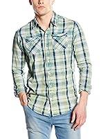 Scotch & Soda Camisa Hombre (Verde)