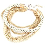 Shining Diva Fashion Cool & Stylish Multi Strand Bracelets For Girls