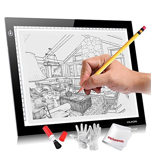 Huion L4S 12.2x8.3 inches LED Light Pad (Imac Cleaning Software compare prices)
