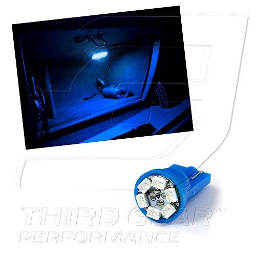Tgp T10 Blue 6 Led Smd Glove Box Wedge Light Bulb Single 2005-2008 Dodge Magnum