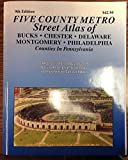 img - for Philadelphia 5 County Metro Atlas book / textbook / text book