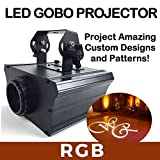 Gobo Projector Pro! Color Changing, Led Gobo Projector Light W/ Rotation Feature - RGB - 30 Watts!