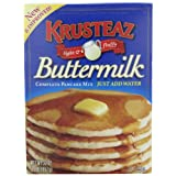 Krusteaz Buttermilk Pancake Mix, 2-Pound Boxes (Pack of 4)