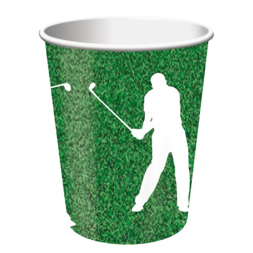 Golf 9 oz. Paper Cups Party Accessory