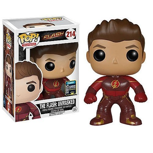 2015 Summer Convention Exclusive POP TV: Flash - The Flash Unmasked - Funko by FunKo