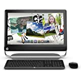 HP TouchSmart 520-1020 All-in-One Desktop (2.6 GHz Intel Pentium Processor, 4GB DDR3, 500GB HDD, Windows 7 Home Premium) Black