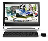 HP TouchSmart 520-1020 Desktop Computer - Black