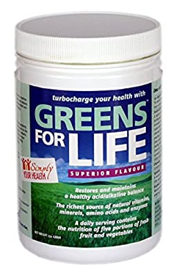 Super Greens Power - Greens For Life Supplement by Virility Health Ltd