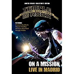 Michael Schenker's Temple Of Rock - On A Mission: Live In Madrid Ltd Deluxe Edition [Blu-ray]