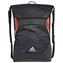 adidas Ultimate Menace II Sackpack, Illuminated/Solar Orange, One Size