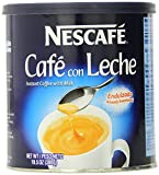 Nescafe Cafe con Leche, 10.5 Ounce Canister (Pack of 12)