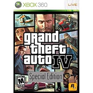 XBOX 360 Grand Theft Auto IV Special Edition