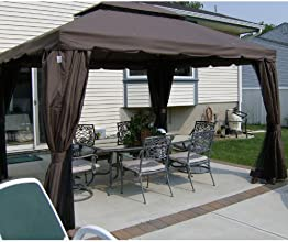 Heritage 10 x 12 Gazebo Replacement Canopy - RipLock 350