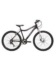 Mizani Women's Sunset FD Mountain Bike - Black, 14 Inch