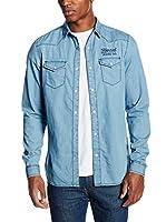 Kaporal Camisa Hombre Bory (Azul)