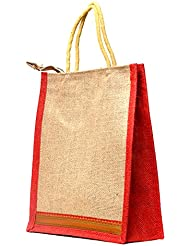 Multi-purpose Jute Carry Bag/lunch Bag/shopping Bag - B01LXHZUC2