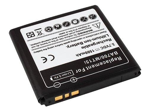 MTEC Akku *1500mAh* für Sony Ericsson Xperia mini / SE Smultron / ST15 / ST15a / ST15i / Xperia Neo / SE Halon / MT15 / MT15a / MT15i / Xperia Neo V / MT11 / MT11a / MT11i / Xperia Pro / SE Iyokan / MK16 / MK16a / MK16i / Xperia Ray / SE Urushi / ST18a / Xperia Tipo / Sony Tapioca SS / ST21 / ST21a / ST21i / Xperia Tipo Dual / Sony Tapioca DS / ST21a2 / ST21i2 / ersetzt Originalakku Bezeichnung: BA700 / BA 700