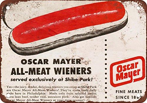 1953-in-shibe-riproduzione-in-weiners-oscar-mayer-parco-look-vintage-alternatore