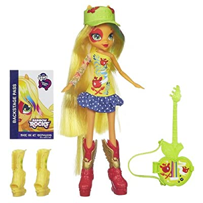 My Little Pony Equestria Girls Applejack Doll with Guitar from My Little Pony