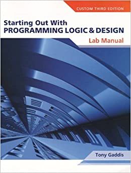starting out with programming logic and Get instant access to ebook starting out with programming logic and design pdf at our huge library starting out with programming logic and design pdf.