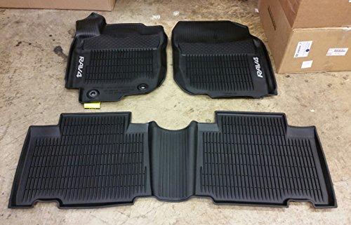 Toyota-Rav4-Black-All-Weather-Floor-Liners-PT908-42165-20-Non-Hybrid