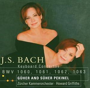 Bach : Concertos pour 2 et 3 pianos, BWV 1060, BWV 1061, BWV 1062, BWV 1063