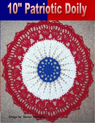 Patriotic Doily crochet Pattern