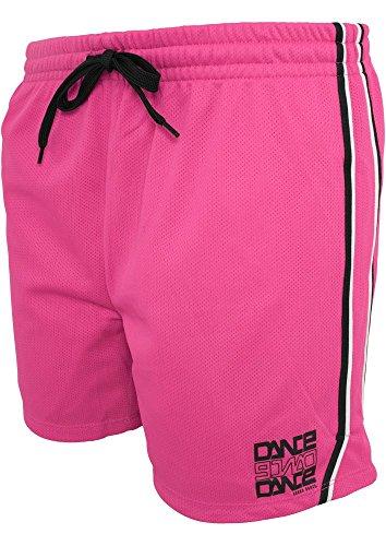 Dance Mesh Shorts n.pink/blk L