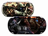 Sony PS Vita-2000 RESIDENT EVIL Protective Vinyl Skin Decal Set & Screen Protector Kit