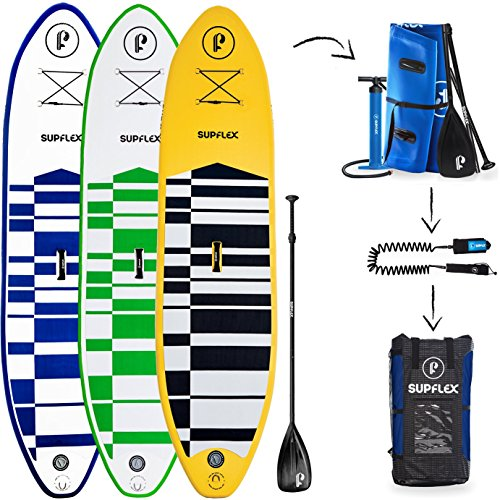 Supflex-iSUP-All-Around-Inflatable-Stand-Up-Paddle-Board-Package-Board-Pump-Bag-Paddle-Free-Leash