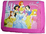 Disney Princess Trifold Wallet Pink for Girls
