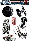 Star Wars Fensterbilder Set Raumschiffe
