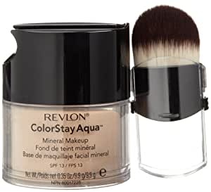 Revlon Colorstay Aqua Mineral Makeup,SPF 13/SPF 13, Light Medium/medium, 0.35 Ounce